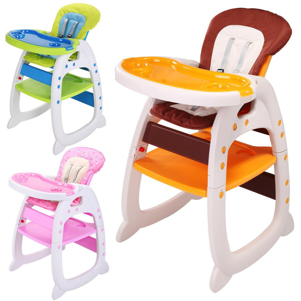 baby high chair 3 in 1 convertible