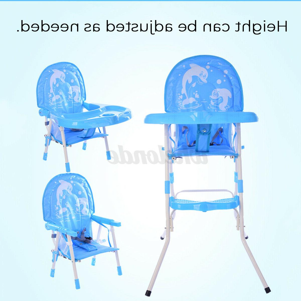 Baby High Chair in 1 Play Table Seat Toddler Feeding Tray