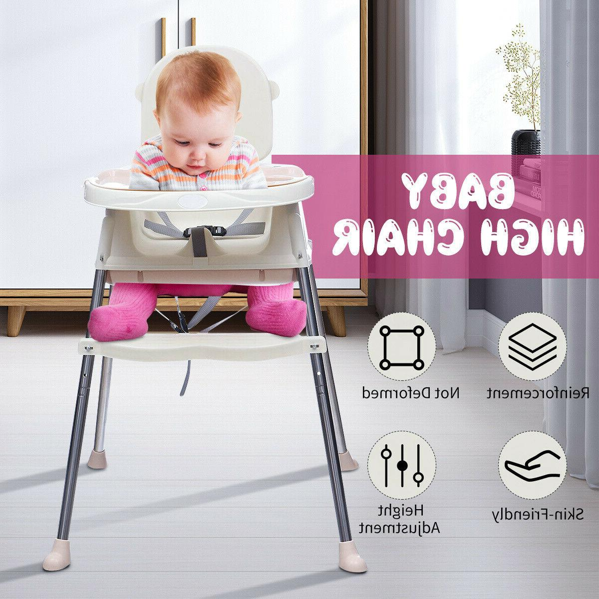 baby high chair convertible play table seat