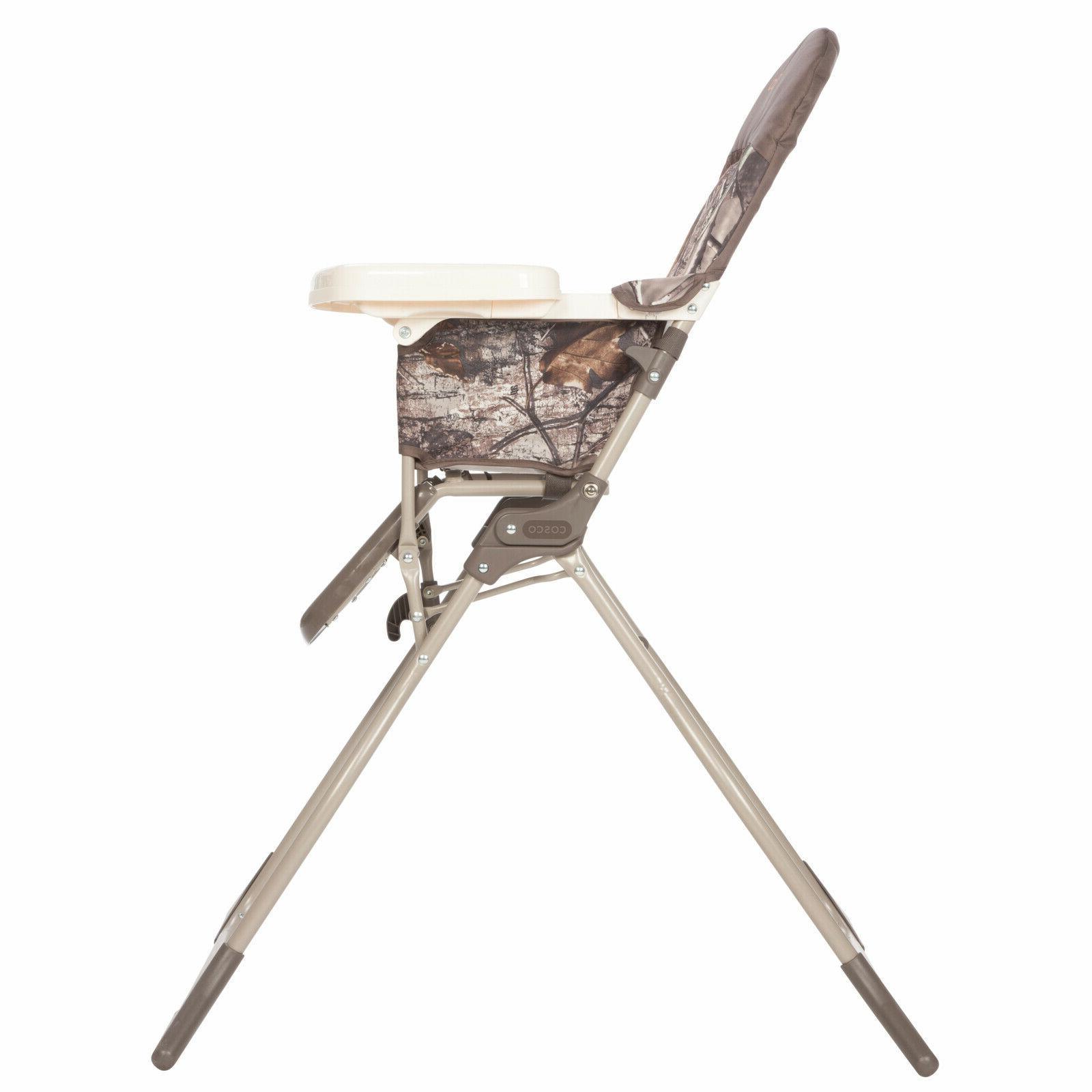 Baby High Chair Size Children Kids Feeding Seat Adjustable Tray