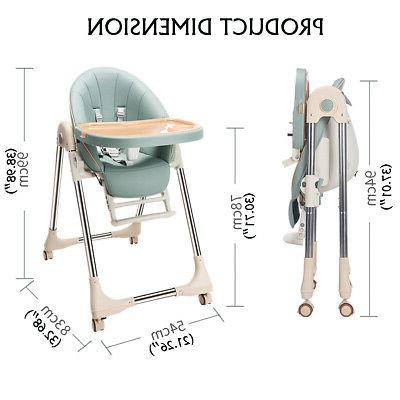 Baby High Booster Foldable Adjustable