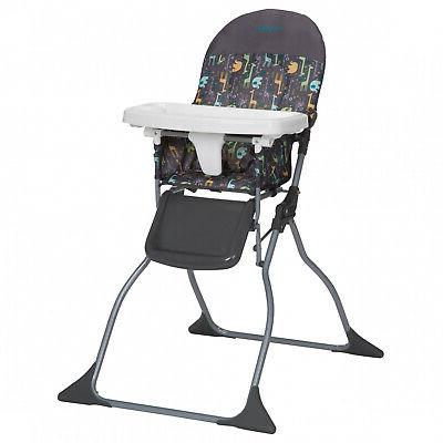 Baby High Chair Folding Adjustable Child