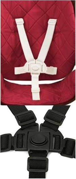 new part baby safety strap 5 point