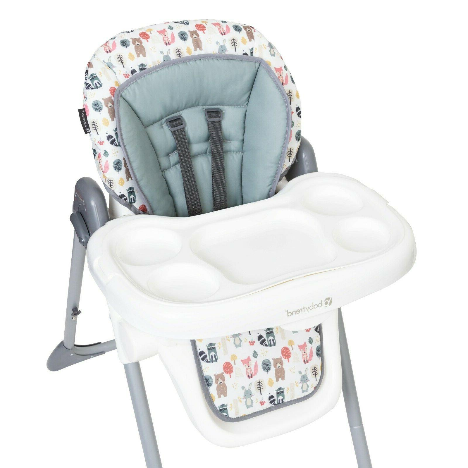 Baby Adjustable Height Mealtime Foldable