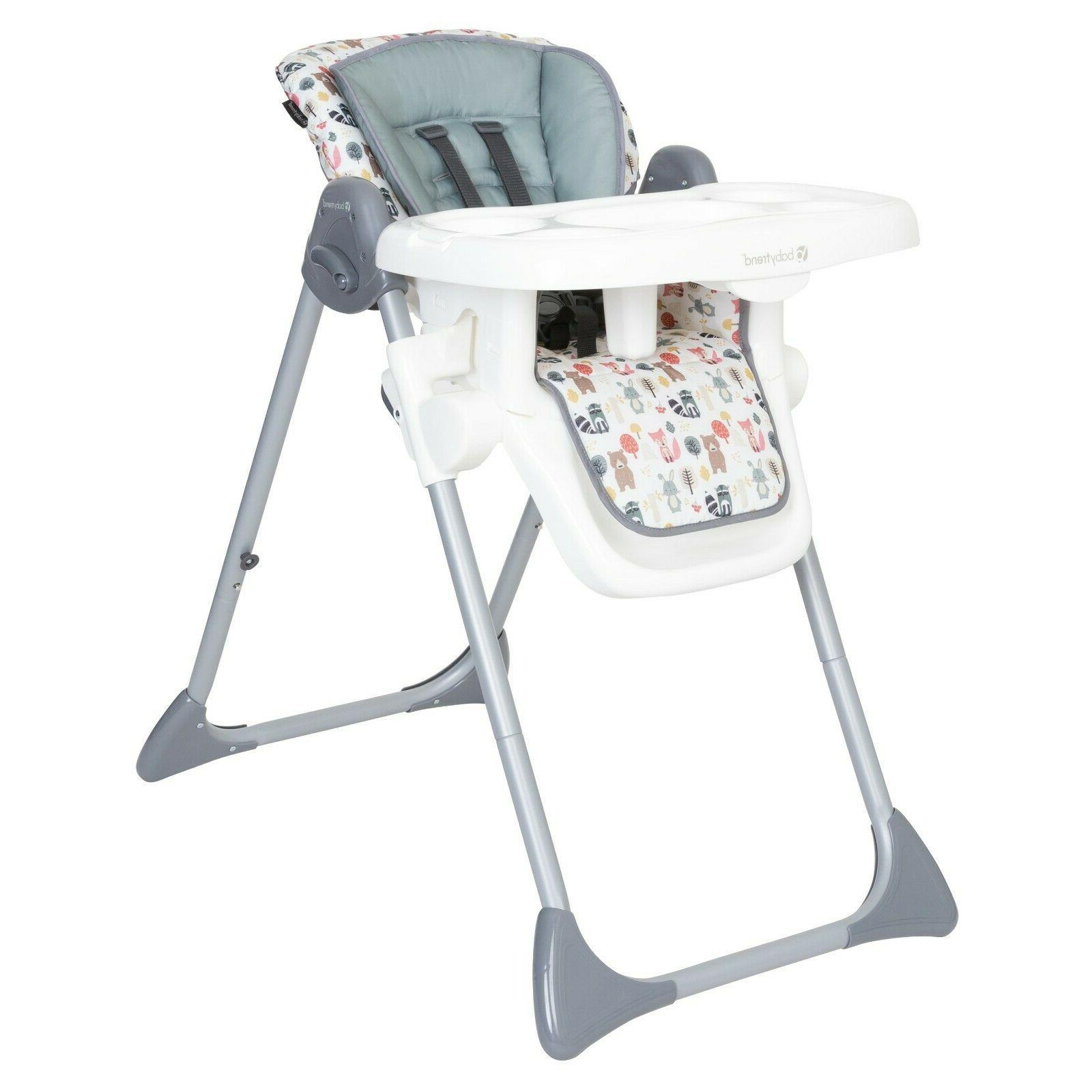 Baby Sturdy Adjustable Elevated Mealtime Seat Foldable