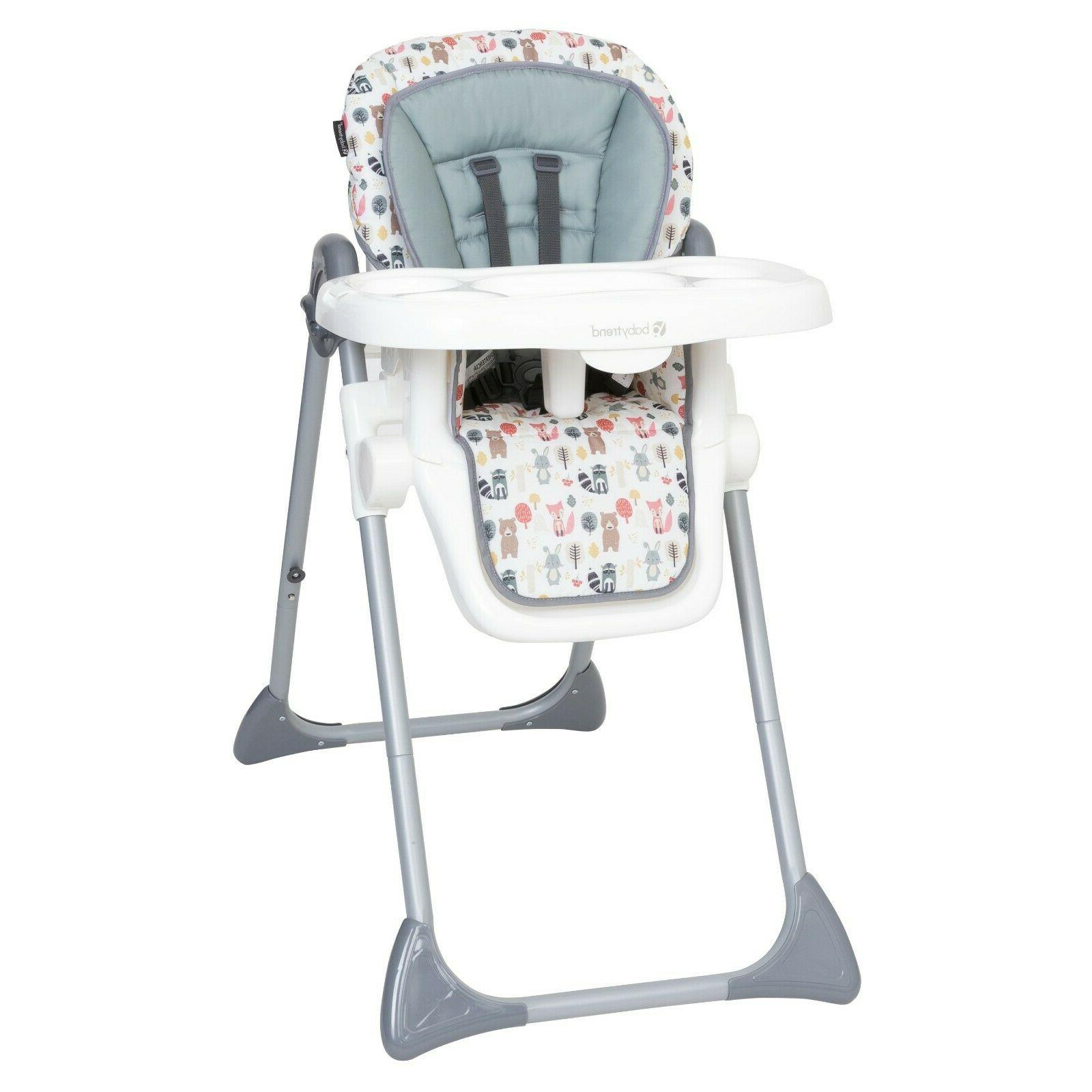 baby high chair sturdy adjustable height 3
