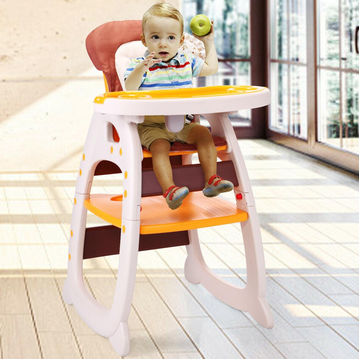 BABELLITE Baby Chair Table 1 Convertible w/Tray