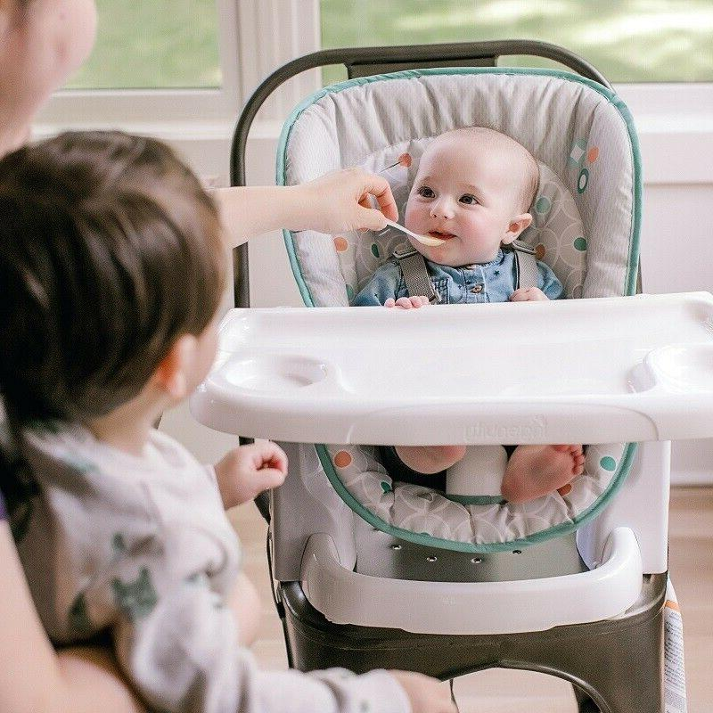 Baby Booster Recliner Child Feeding Above