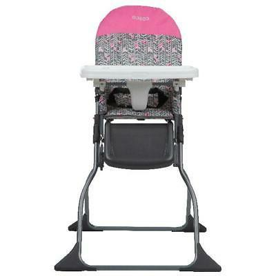 Simple Fold™ Full Size High Chair 3-Position Adjustable Tr