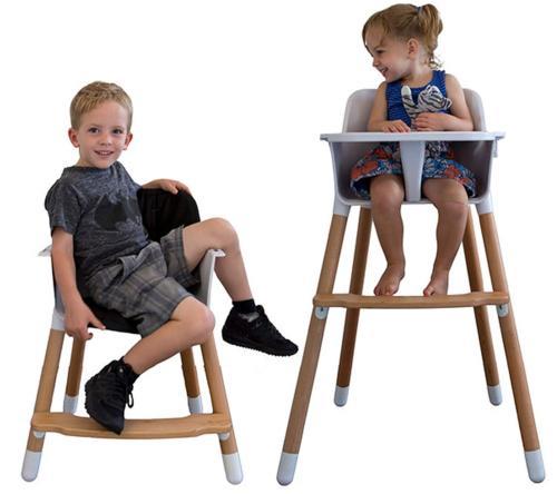 baby high chair white