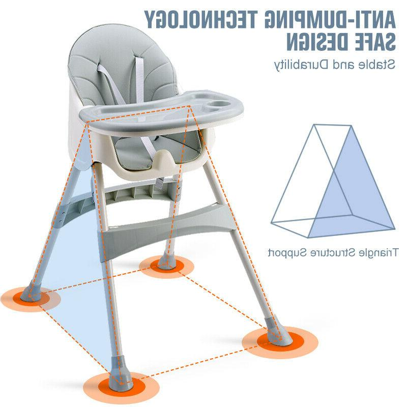 Baby High Chairs Feeding Dining Booster Table Seat