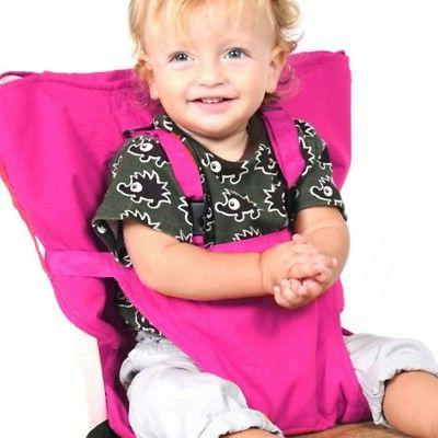 Portable Baby Chair Home Dining Feeding Belts