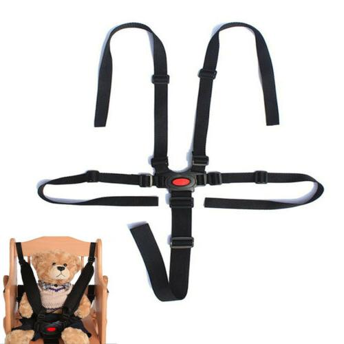 Baby Harness Stroller 5 Belt