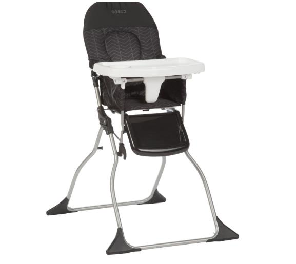 baby simple fold high chair 3 position