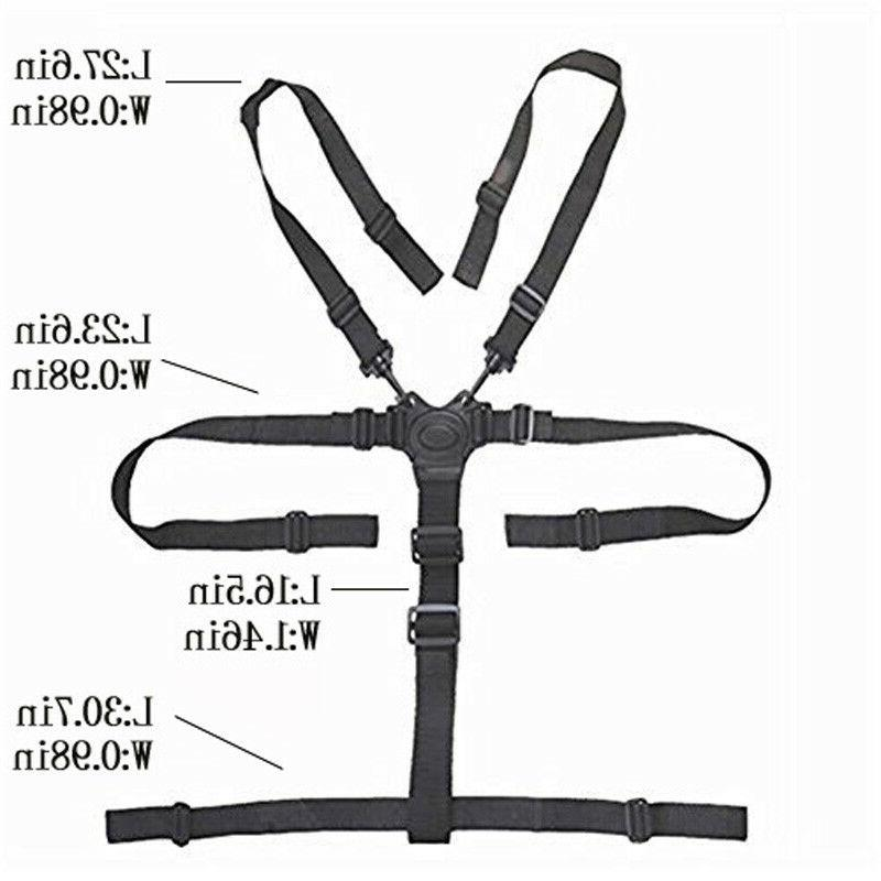 Baby Stroller/High Chair Cushion Straps