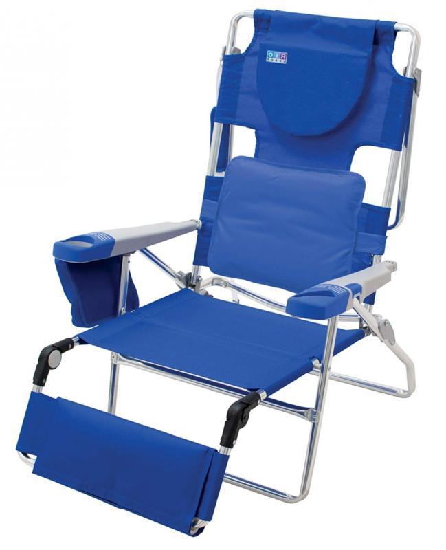 Rio Beach Face Opening Sunbed High Seat Beach Chair & Lounge
