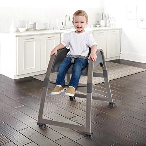 Ingenuity Collection Wood Chair, Bella Teddy High Toddler Chair, and