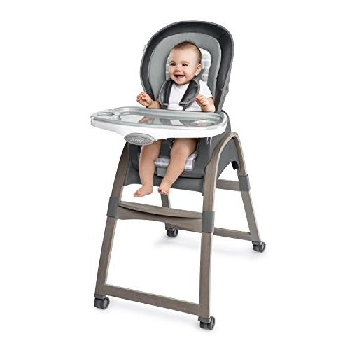 Ingenuity Boutique 3-in-1 Wood High Teddy - High Toddler Chair,
