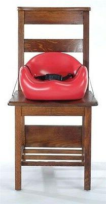 Cafe Booster Seat in Cherry
