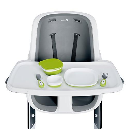 4moms plate, bowls utensils feeding set - safe