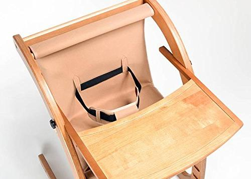 baby chair Wood folding chair multifunction baby chair table