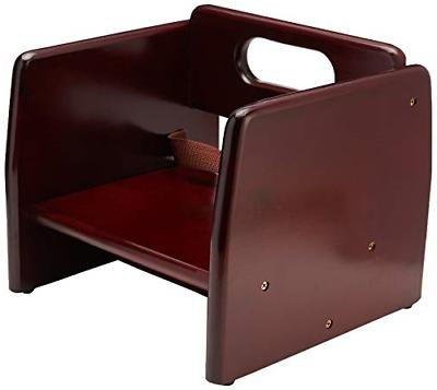 chb 703 wooden booster seat mahogony