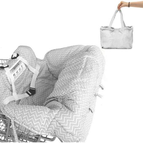 Child Kid Shopping Trolley High Pad Mat