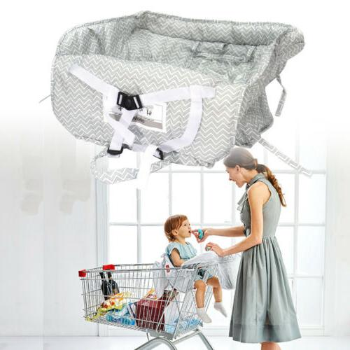 child baby kid shopping trolley cart cover