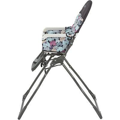 Compactable Cosco Fold High Chair with Adjustable Tray