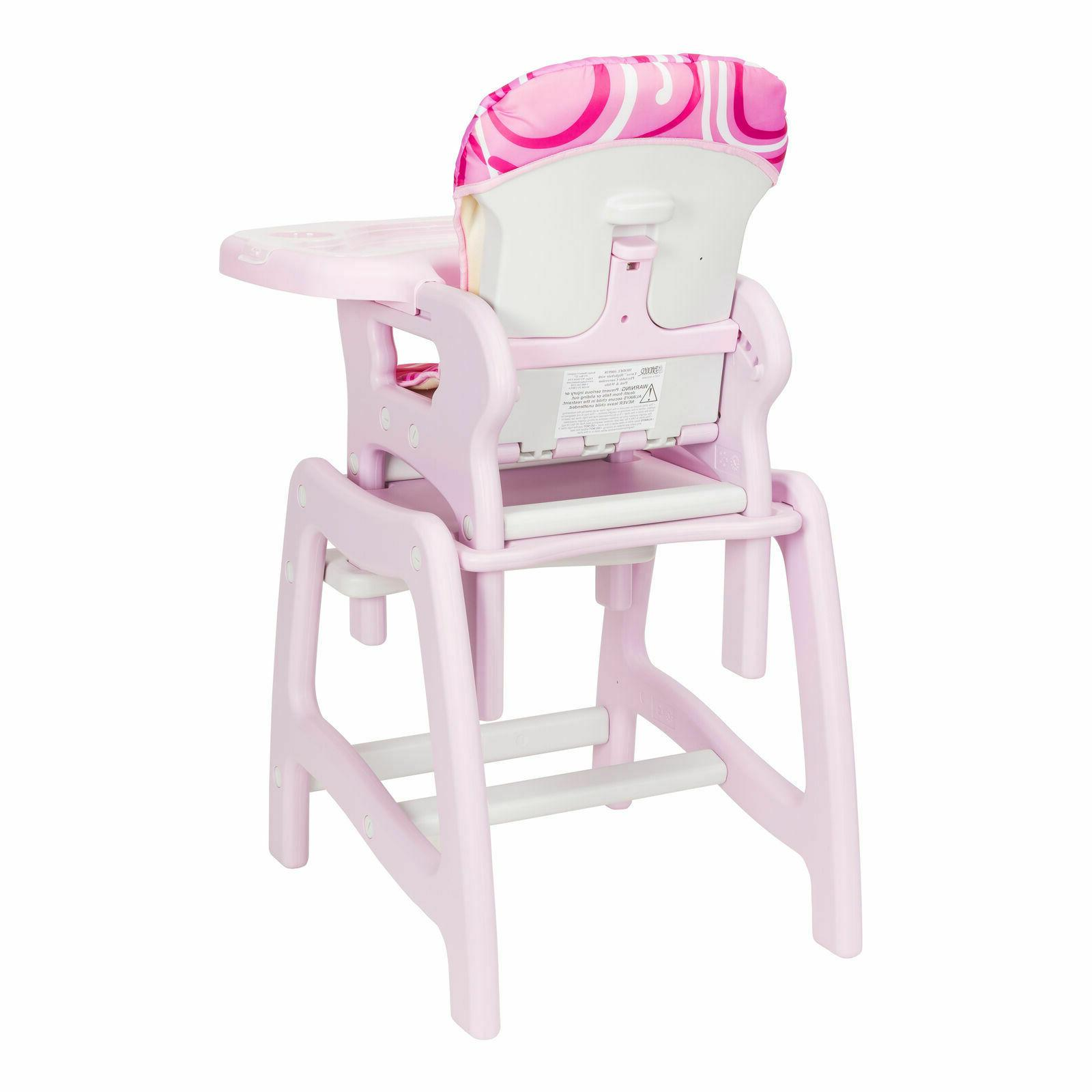 Convertible High Feeding Booster Seat Infant Furniture