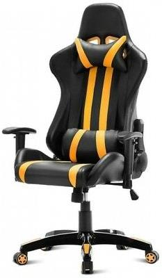 Costway Executive Racing Style High Back Reclining Chair Gam