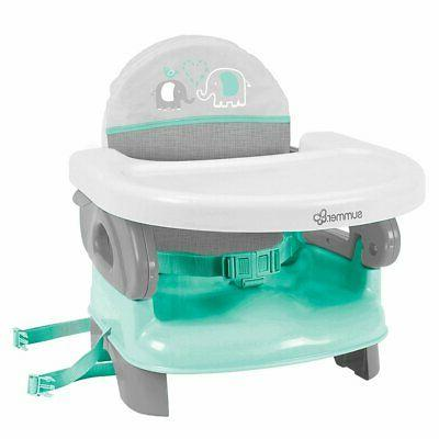 deluxe comfort folding feeding booster