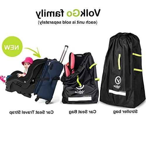 VolkGo Travel e-BOOK –– Check Bag Travel & Saving Money –– For Safe, & Germ-Free Seat –– Fits Infant Carriers