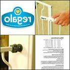 Easy Open 50 Inch Wide Baby Gate Pressure Mount With 2 Inclu