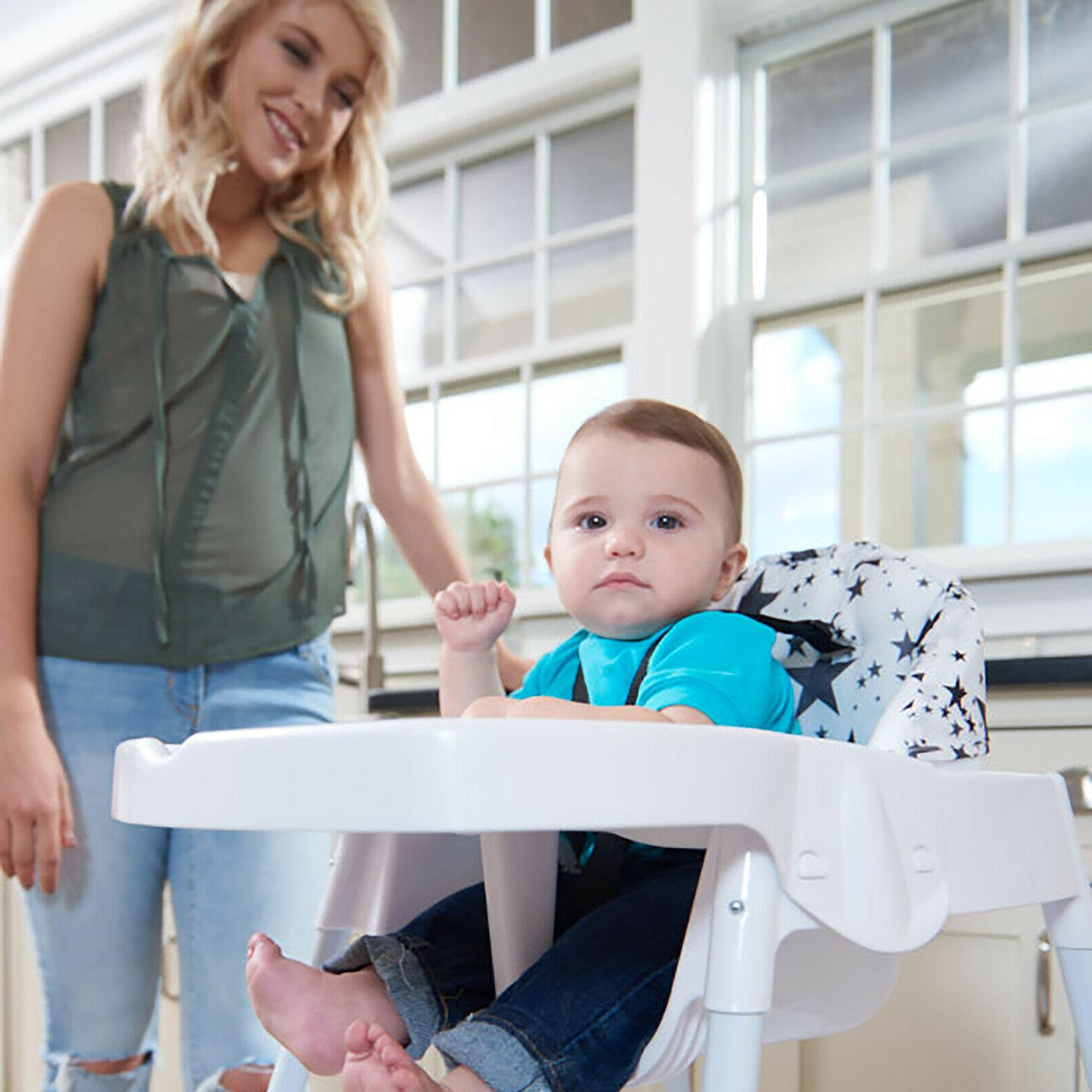 Evenflo 4-in-1 Eat Grow Convertible High Chair Child Learnin