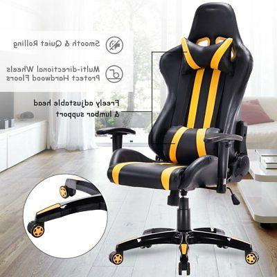 High Back Reclining Chair Gaming Chair Office