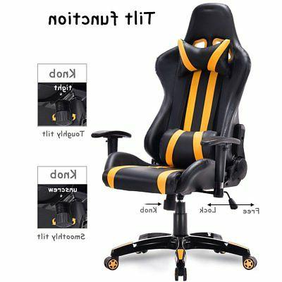 High Back Reclining Gaming Office