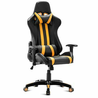 Costway High Back Reclining Gaming Chair