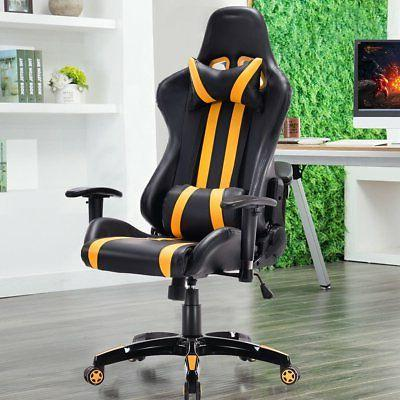 Costway Executive Racing High Gaming Chair Office Com