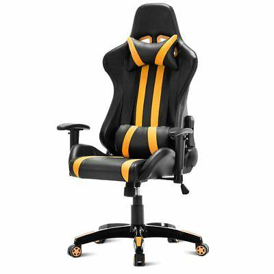 executive racing style high back reclining chair