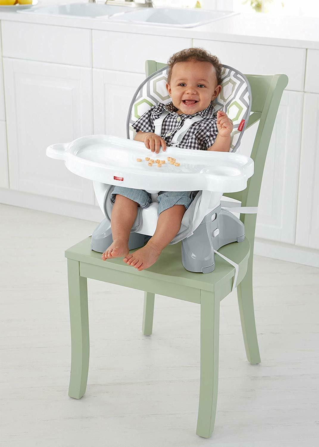 Fisher-Price SpaceSaver Chair, Geo Meadow