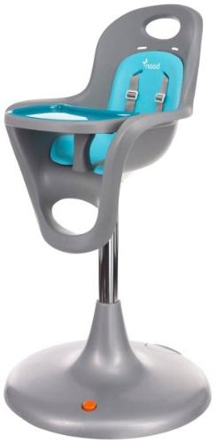 Boon Flair Highchair - Blue Pad - Gray Base