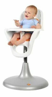 Boon Flair Chair Orange/White