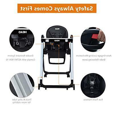 HEAO Chair Reclining 4 Wheels