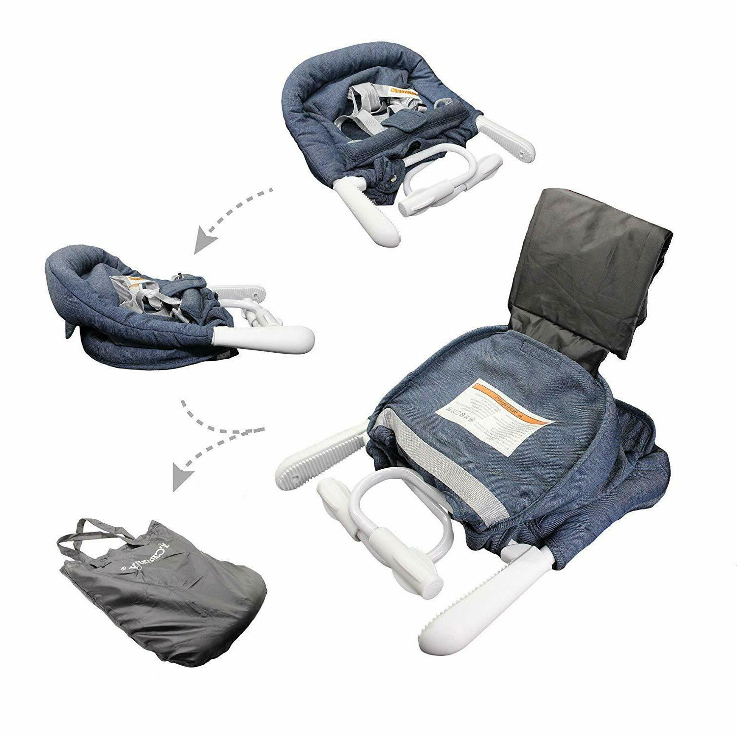 Folding Baby Hook Table Booster Seat New