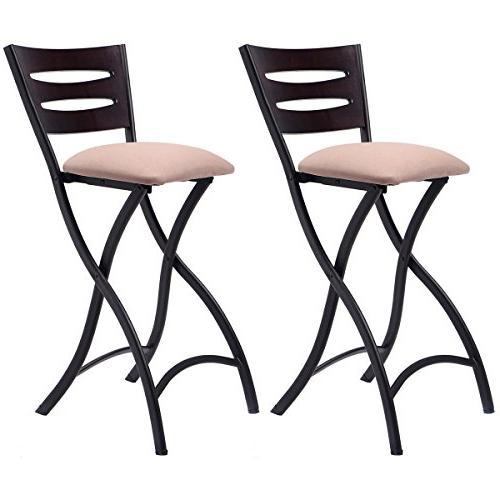 folding bar stools counter bistro