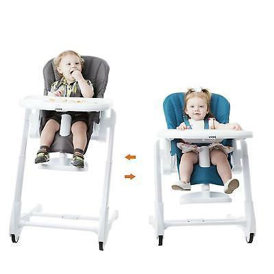 Joovy Adjustable High Chair, Charcoal