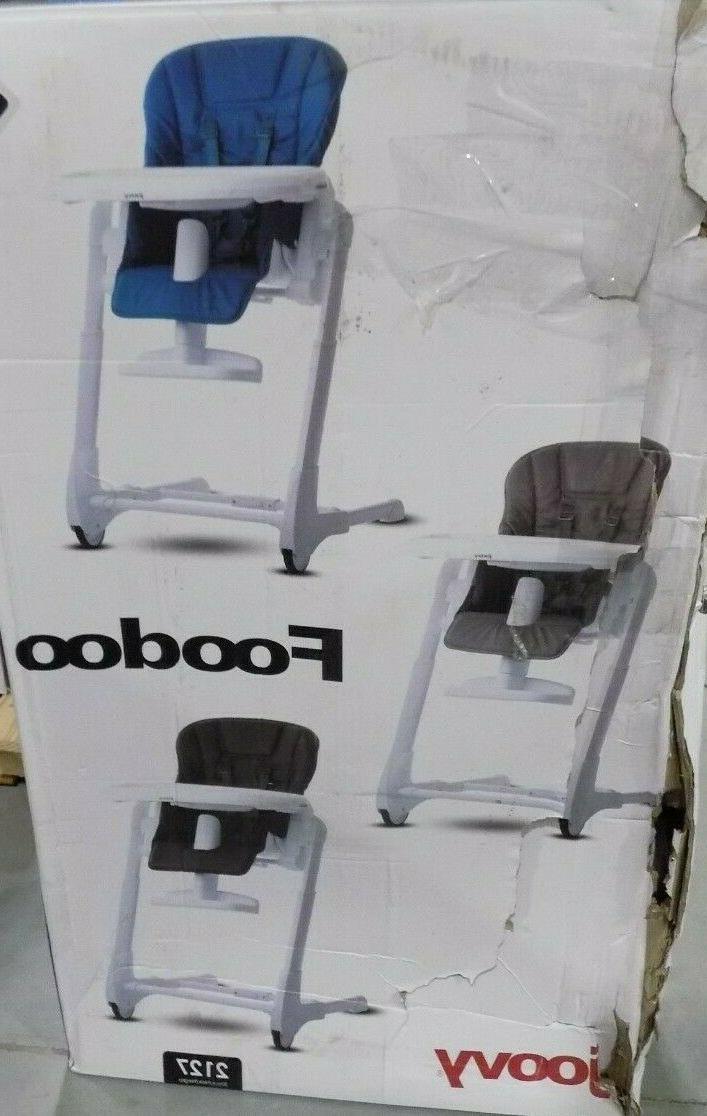 foodoo high chair black