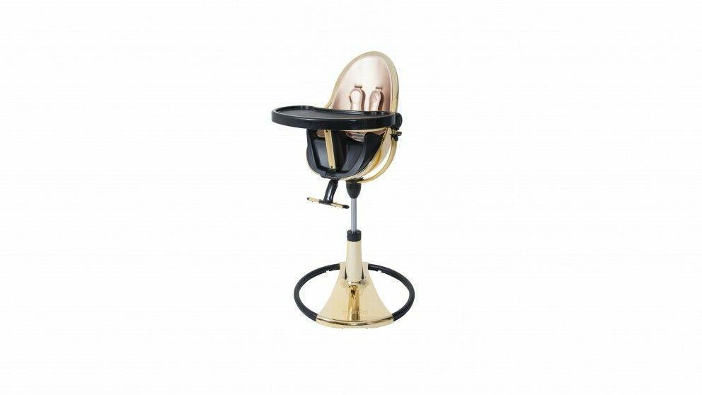 fresco chrome high chair gold yellow black