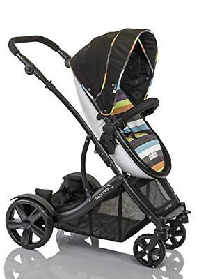 guzzie guss connect 4 stroller stripe